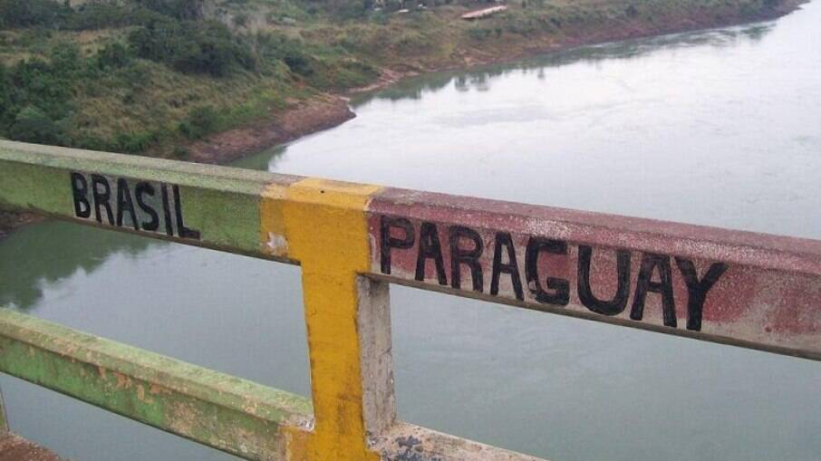 Fronteira entre Brasil e Paraguai