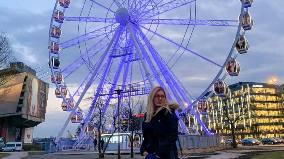 Cidade segura: Carol Capel mora desde 2018 em Cracóvia