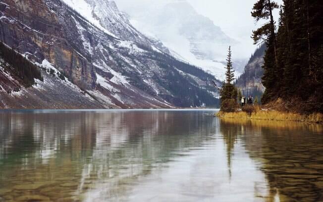 Lago no Parque Nacional Banff
