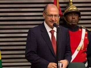 Geraldo Alckimin participa de posse do governo de São Paulo na Assembleia Legislativa de SP