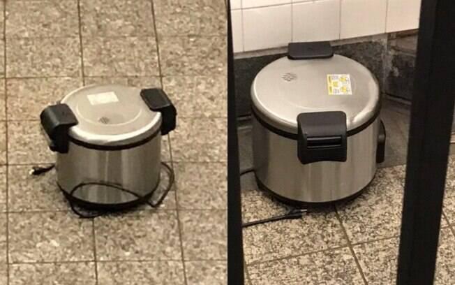 Duas panelas foram encontradas dentro de estação de metrô de Nova York
