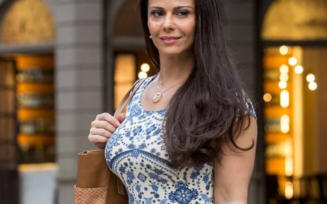 Viviane Araújo vai voltar as novelas em