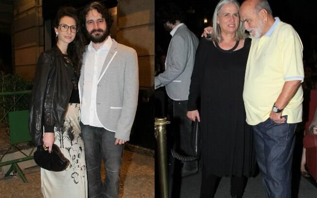 Vera Holtz e Lima Duarte também conferiram a pré-estreia