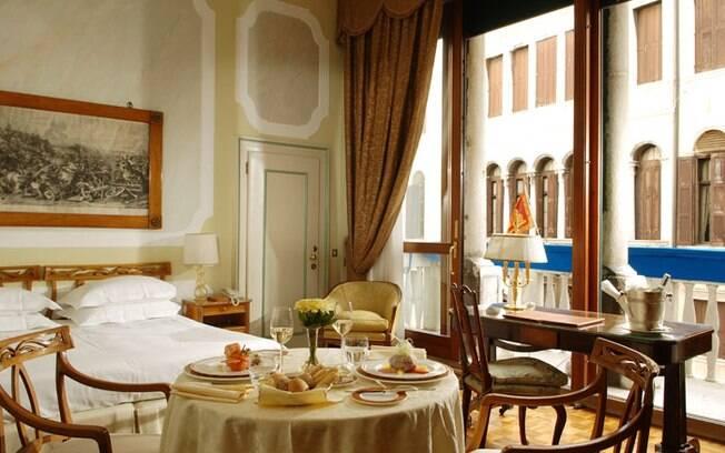 O Gritti Palace Hotel fica em Veneza e virou point de famosos de Hollywood
