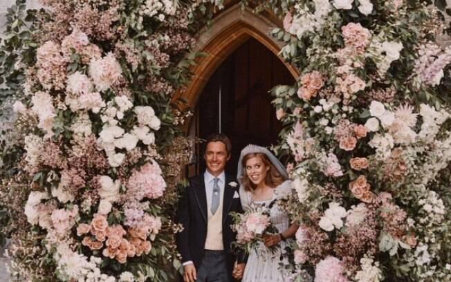 Princesa Beatrice e seu marido