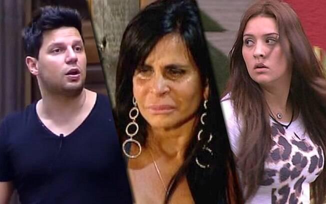 Thiago Servo, Gretchen e Tamires Peloso já desistiram dos realities que participaram