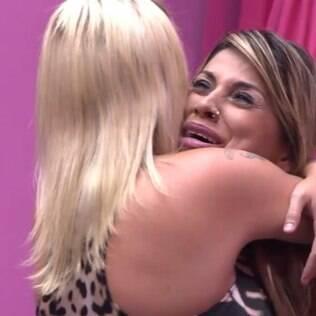 Vanessa chorou de felicidade