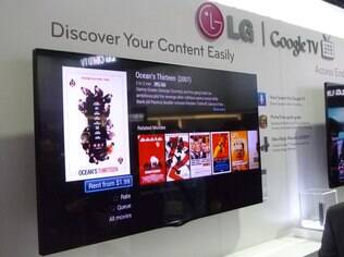 TV da LG com Google TV: Google quer investir na plataforma, mas tentará popularizar web na TV com Chromecast