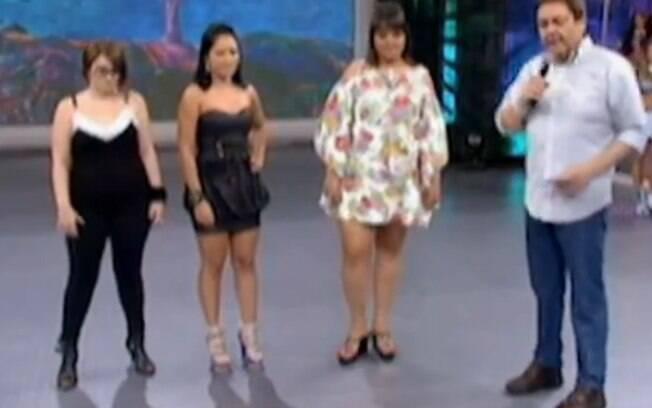 Faustão recebe as três BBB eliminadas: Mayara, Jakeline e Analice e convida Daniel para ir ao programa