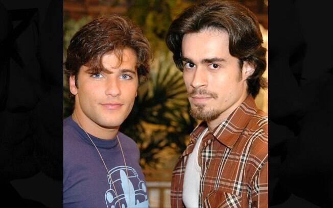 O beijo gay de Junior e Zeca em 'América' chegou a ser gravado mas não foi ao ar