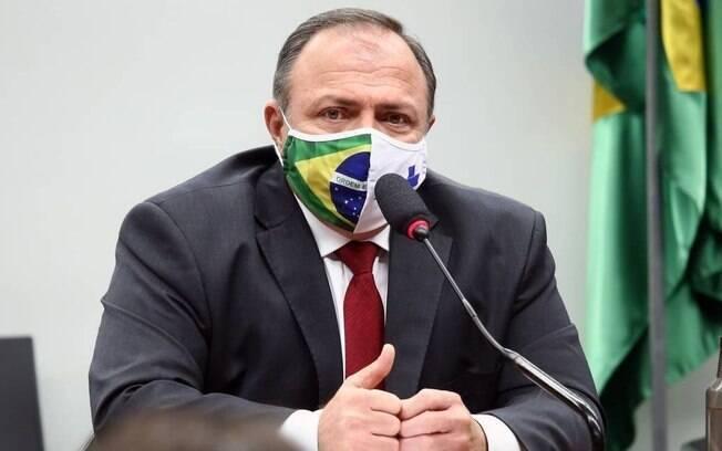 Eduardo Pazuello se reuniu com ministros e com o presidente Jair Bolsonaro hoje à tarde