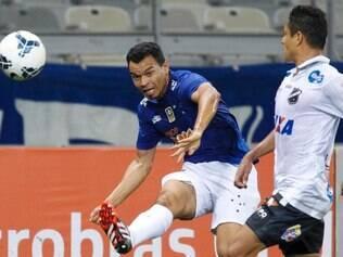 Ceará, assim como no jogo de ida que terminou 1 a 0 para o Cruzeiro, ser titular da Raposa contra o ABC