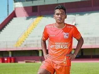 DNA majestoso.  Octávio, neto de Pelé, vai receber a primeira chance como profissional no Guarani