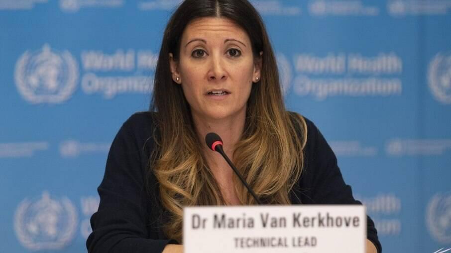 Maria Van Kerkhove, líder técnica do programa de emergências da da OMS