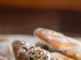 Os pães servidos no Oak vêm com recheios diferentes todos os dias, tendo como base os italianos, de casca mais grossa