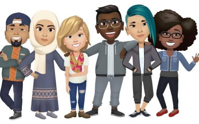 Facebook lança avatares nos Estados Unidos