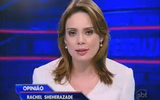 Rachel Sheherazade no SBT