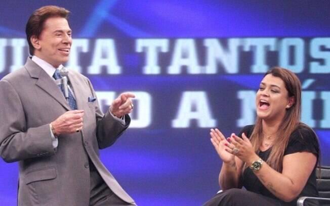 Silvio Santos chama Preta Gil de gorda durante sua participação em seu programa