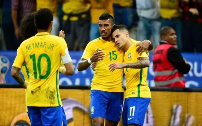 Brasil venceu o Paraguai em SP e está na Copa do Mundo de 2018, na Rússia