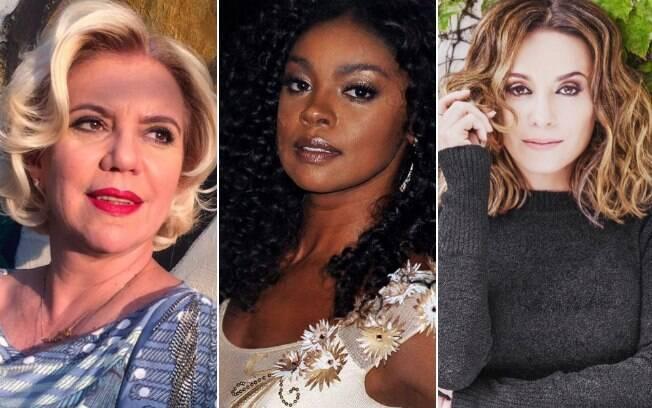Astrid Fontenelle, Cris Vianna e Suzana Pires prestam apoio a Luiza Brunet