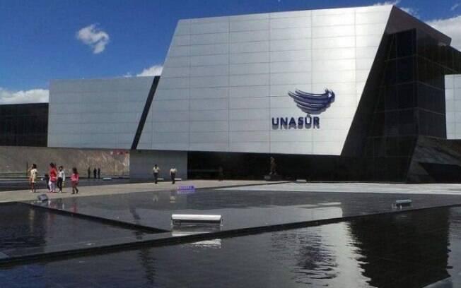 Sede da Unasul em Quito, no Equador; Organização já estava paralisada há dois anos