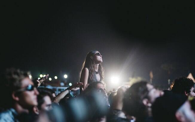 Público no segundo dia do Lollapalooza Brasil