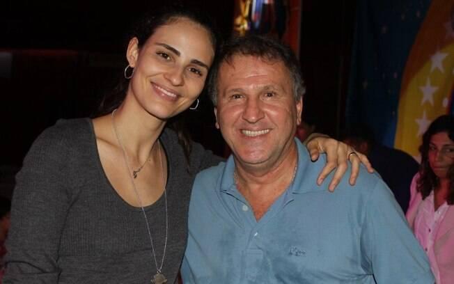 Fernanda Tavares e Zico