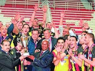 Tunisianos festejam título
