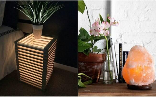A iluminação do espaço também influencia no relaxamento, e apostar em luminárias pode deixá-lo mais aconchegante