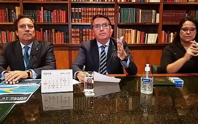 Bolsonaro voltou a defender o fim do isolamento social amplo para pessoas fora dos grupos de risco da Covid-19, como idosos e pessoas com doenças crônicas