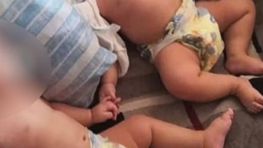 MP denuncia mãe poder deixar bebês gêmeos sozinhos em casa e um deles morrer