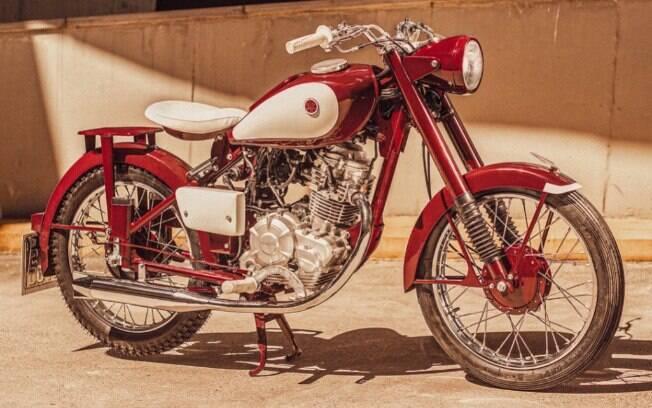 Yamaha Red Dragonfly é montada no Brasil com a base da Factor 125 Blueflex com detalhes do modelo original, de 1955