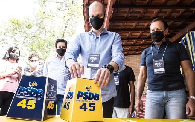 Chapa de Covas terá Ricardo Nunes (MDB) como vice.