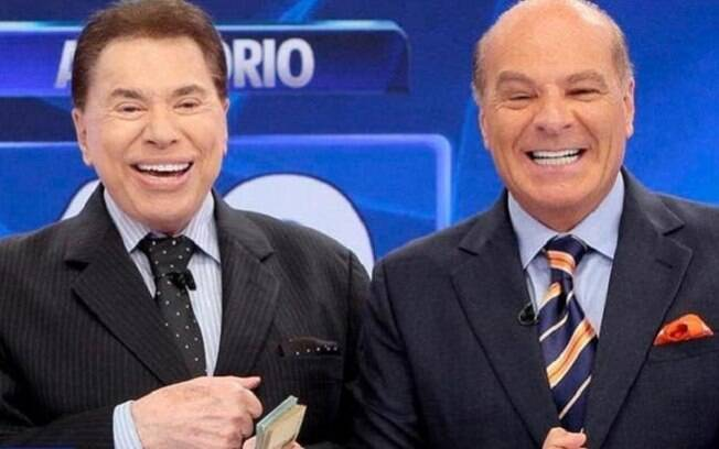 Silvio Santos e Marcelo de Carvalho