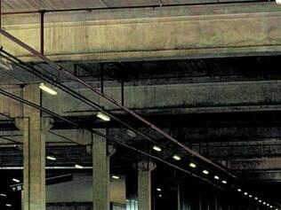 Na Estação Vilarinho, obras parecem estar em estágio inicial
