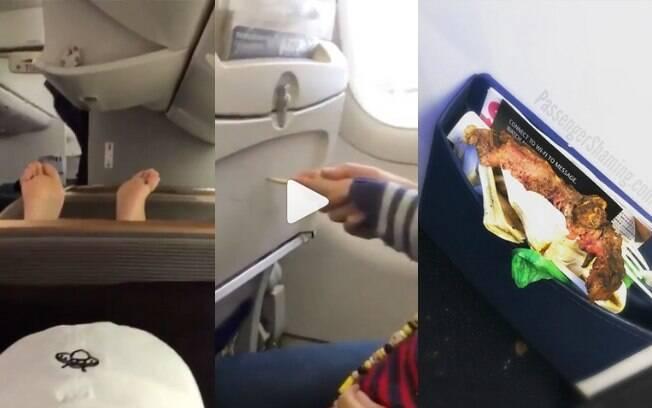 Alguns passageiros insistem em dificultar a vida dos comissários de bordo e dos outros que estão a bordo do avião