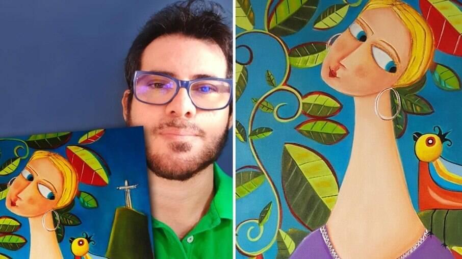 Rafael Rocha homenageia Xuxa