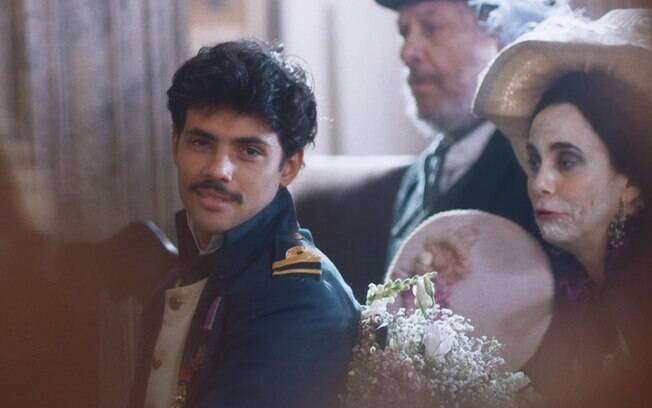 Nos Tempos do Imperador: Bernardinho cobiça Leopoldina, faz proposta absurda por um beijo e se lasca