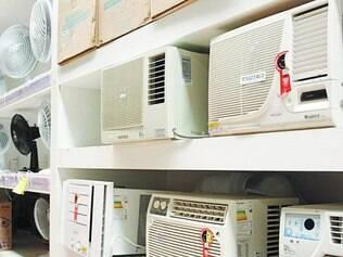 Aquecido. Vendas de ventilador, climatizador e ar-condicionado neste ano já subiram mais de 250%