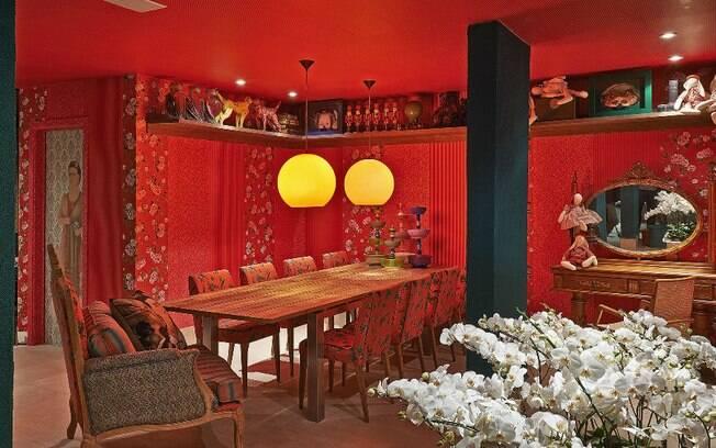 A designer Ednara Braga e o arquiteto Flávio Paraguassu homenagearam Frida Khalo, cuja morte completa 60 anos em 2014, na mostra Casa Cor Goiás