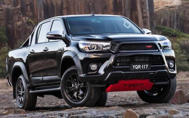 Toyota Hilux TRD entra para a lista dos carros dos sonhos por ser a versão descolada que nunca teremos