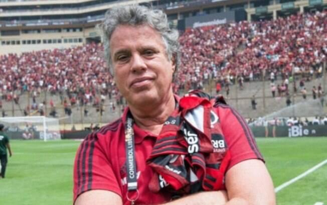 Gustavo Oliveira%2C dirigente do Flamengo