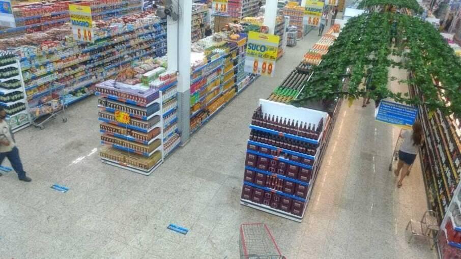 Governo de SP diz que supermercados poderão continuar funcionando normalmente