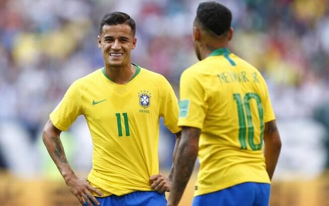Com temporadas abaixo do esperado, Coutinho e Neymar foram convocados por Tite para defender a Seleção na Copa América