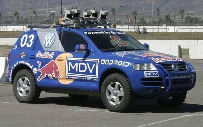 Entre os protótipos de carros autônomos, destaca-se o Stanley, de 2005, que rodou 200 km sem precisar de motorista