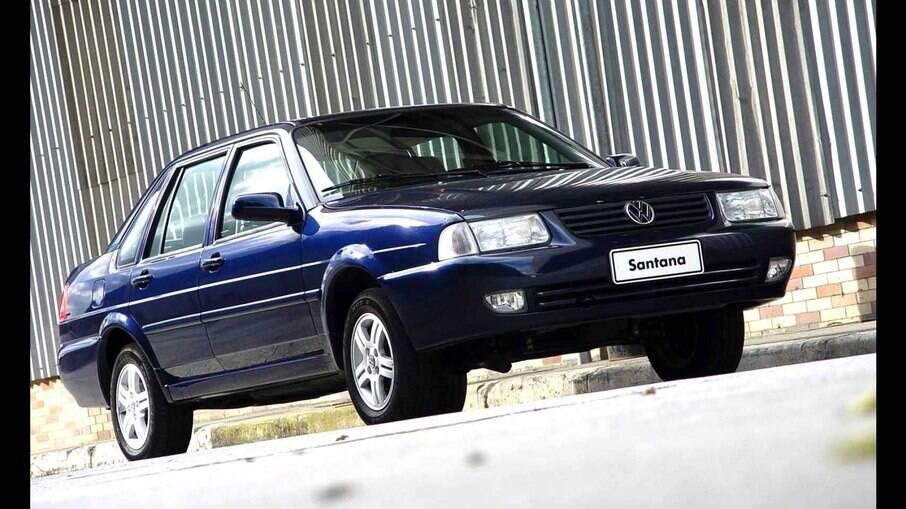 O último Santana foi fabricado em 2006. Era o fim de uma história do carro de luxo da VW.