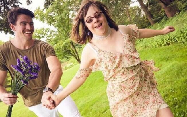 Chris é irmão de Brittany, que tem Síndrome de Down