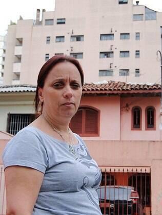 Há 26 anos morando na mesma rua, Sandra viu de perto a invasão dos prédios na capital paulista