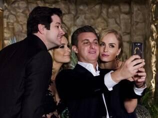 Angélica e Luciano Huck em 'Geração Brasil'