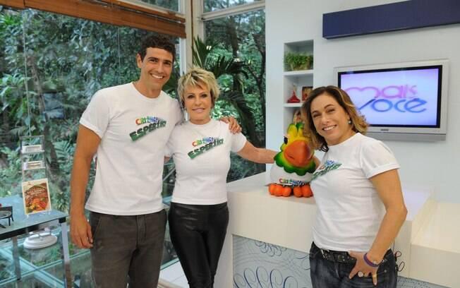 Reynaldo Gianecchini, Ana Maria Braga e Cissa Guimarães também estrelam campanha